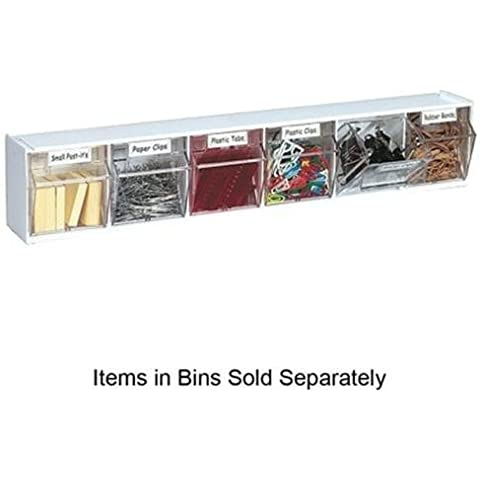 Tilt Bins,Interlocking,6-Bins,23-5/8