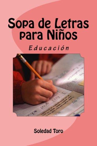 Sopa de Letras para Niños: Educación por Soledad Toro