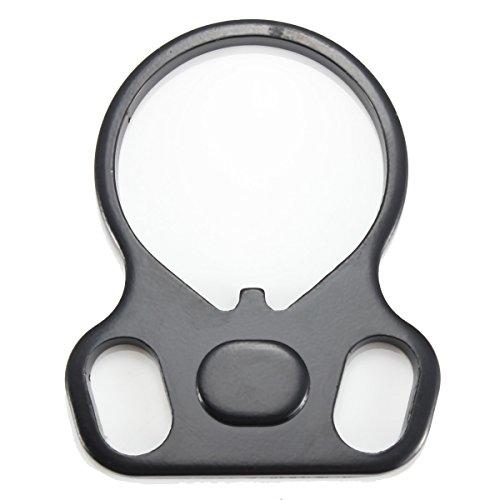 ILS - Tactical Endplatte Oval Dual-Loop-Riemen-Ring-Mount-Adapter Rechts/Links-Handed -