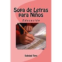 Sopa de Letras para Niños: Educación