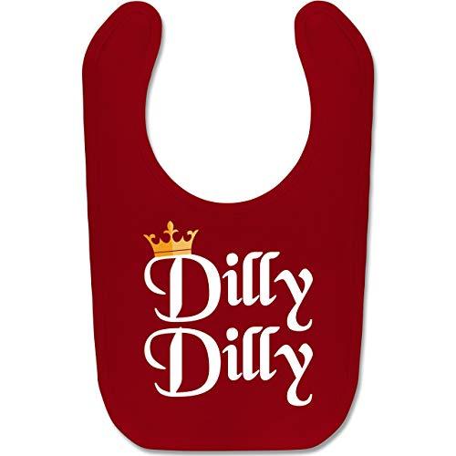 y Dilly - St. Patricks Day - Unisize - Rot - BZ12 - Baby Lätzchen Baumwolle ()