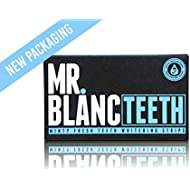 Mr Blanc Teeth ™ Teeth Whitening Strips - 2 Week Supply - Professional Teeth Whitening - Enamel Safe - Non Peroxide
