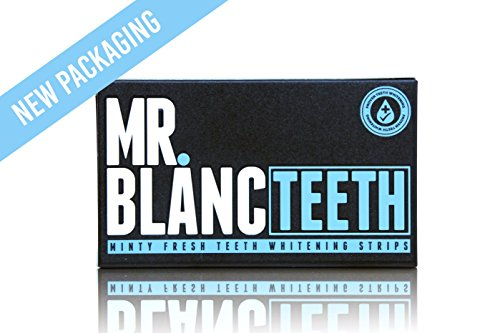 Sr. Blanc dientes tiras de...