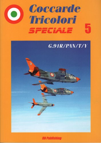 Coccarde tricolori speciale. Fiat G91R-PAN-T-Y. Ediz. italiana e inglese: 5 por Riccardo Niccoli