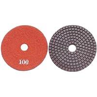 "ATS Premium 100mm (4"") 100 Grit Copper Bonded Diamond Polishing pads concrete granite"