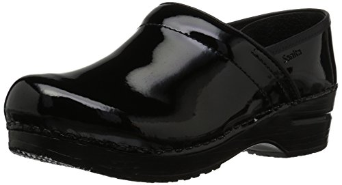 Sanita Damen Original professional patent closed Clogs, Schwarz (Black 2), 36 EU Sanita Professional Clogs