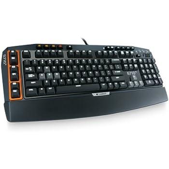 Logitech G710 Plus Mechanical Gaming Keyboard (PC DVD)
