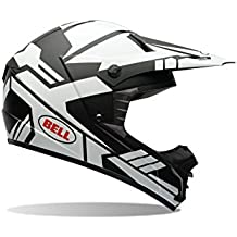 Bell Helmets MX 2015 SX-1 Casco Adulto, color Stack Matte Blanco, talla XXL