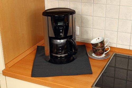 Firemat TXX3626 Black Edition 60 x 70 cm Feuerfestes Universal Schutztuch für Kaffeemaschinen,Induktionsherd etc. (Hitzebeständig bis 300 Grad)