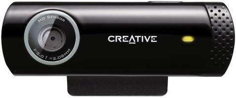 Creative Live! Cam Chat HD, 5.7MP Webcam (Black)