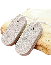 Jeoga® Pack of 2 Pcs Combo large Natural pumice Stone for your feet and elbows, Phogary Lava Pedicure Tools for hard skin callus remover for feet and hands Natural foot file.