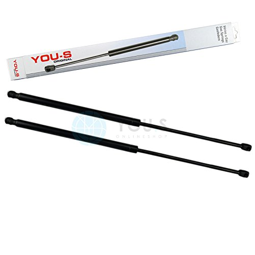 Preisvergleich Produktbild 2 x YOU-S Original Gasfedern für Heckklappe 686 mm 910 N - 701 829 331 AB