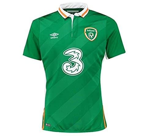 2016 2017 Republic of Ireland Home Football Jersey In Green