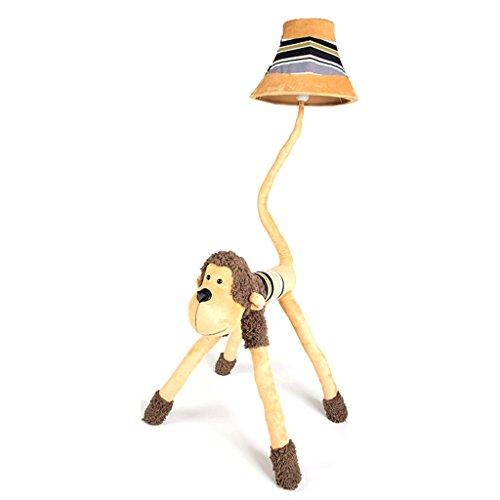 Good thing Standleuchten Deckenfluter Kinder Cartoon Affe Nette Stehlampe Kreative Persönlichkeit Lampe Schlafzimmer Stehleuchte Schreibtisch Study Wohnzimmer Vertikale Tischlampe