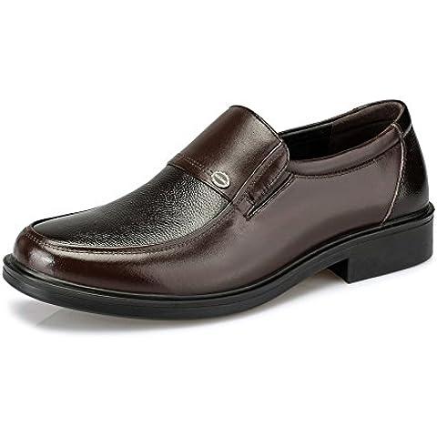 2016Primavera se expone zapatos del pie/zapatos de cuero ocasionales Hombre de negocios/, Cuero respirable