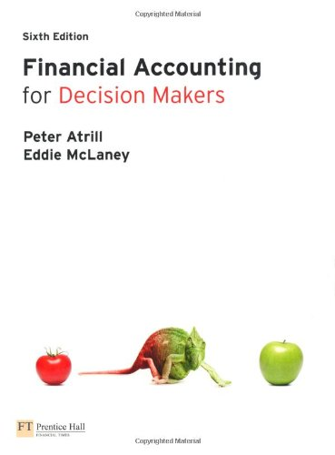 Financial Accounting for Decision Makers with MyAccountingLab access card