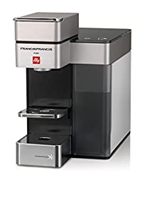Francis Francis for Illy 60071 Y5 Duo Espresso & Coffee Machine, White/Black