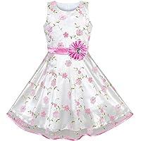 66dc78723e6a Abito da ragazza di fiore dal design unico per le tue bambine e le ragazze  più
