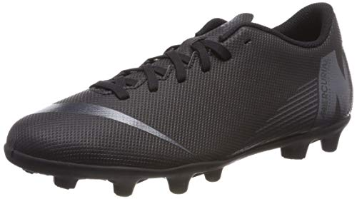 Nike Vapor 12 Club FG/MG, Chaussures de Fitness Mixte Adulte, Noir Black 001, 44 EU
