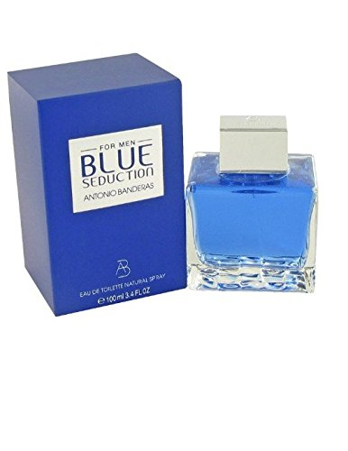 Antonio Banderas Blue Seduction for Eau De Toilette Spray Men, 100ml