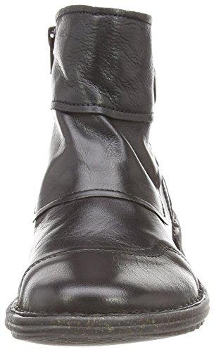 Camel Active - Niagara 70, Bottines Pour Femme Noir (noir (cuir Noir))