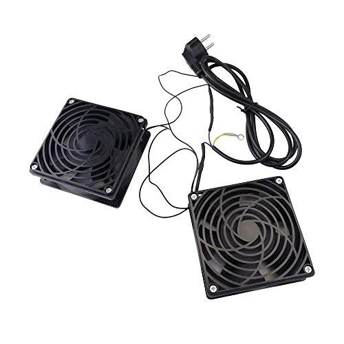 Cablematic-Deckenventilatoren für Rack 19-2x 120mm 220VAC