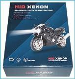 Kit Hid Xenon Moto Scooter H4 Bixenon 6000K Centralina Slim Ultrasottile Nero
