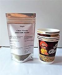 Magic Chaas Masala Buttermilk Masala Raita Masala Dahi bada Powder with Free Disposal Paper Cups(50 g with 5 Cups)