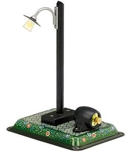 Wilesco 000662 artículo para diseño de maquetas Farol - Artículos para diseño de maquetas (Farol, Previamente montado, Negro, Verde, 210 g, 200 mm, 125 mm)