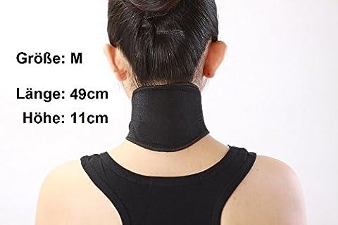 Nackenwärmer bei Nackenschmerzen Kopfschmerzen selbstwärmende Nackenbandage zum Entspannen für Damen und Herren Größe M