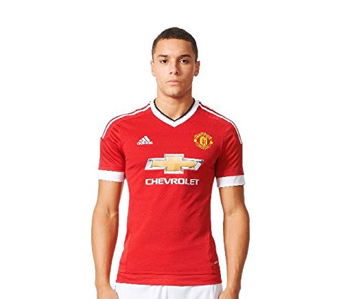 Manchester United Home Authentic Adi Zero Trikot 2015 2016, Red/White/Black, Gr.  XXL (Trikot United Home)