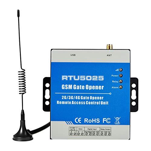 Senders GSM 3G Abridor de puerta GSM 3G Abrepuertas de interruptor remoto con GSM Dial Control GSM GPRS 3G Interruptor remoto (RTU5025)