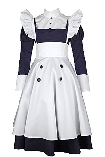 Black Butler Kuroshitsuji Maylene Cosplay Kostüm Dress Damen ()