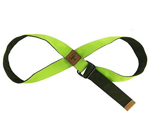 Huateng Unisex Adjustable Yoga Band Widerstandsbänder Dehnung Übung Bands für die Verbesserung der Beweglichkeit und Kraft Yoga Pilates oder für die Verletzung Rehabilitation -