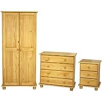 Seconique by Home Discount - Juego de armarios de Dormitorio - Comparador de precios