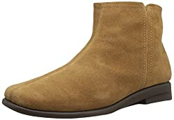 Aerosoles Womens Double Trouble 2 Ankle Boot, Tan Suede, 7 Wide US