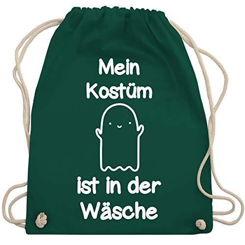 Halloween - Mein Kostüm ist in der Wäsche Gespenst - Unisize - Dunkelgrün - WM110 - Turnbeutel & Gym Bag