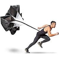 Preisvergleich für Middletone Sprinttraining 56 Zoll Geschwindigkeit Ausbildung Widerstand Fallschirm Lauf Sprint Chute für Fußball Fußball Sport Power Geschwindigkeit Training & Fitness Core Krafttraining