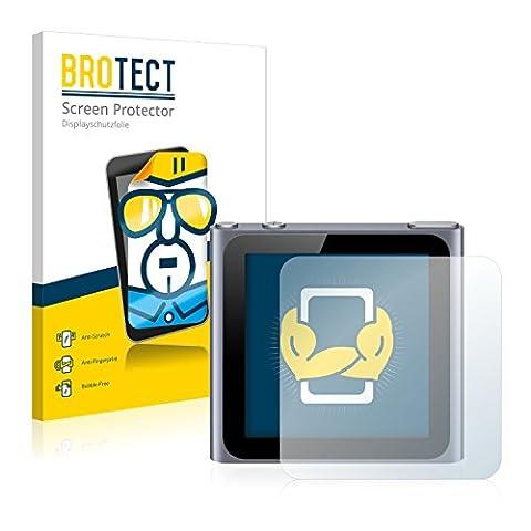 2x BROTECT Film Protection Apple iPod nano 6ème génération (2011) Protection Ecran - Transparent,