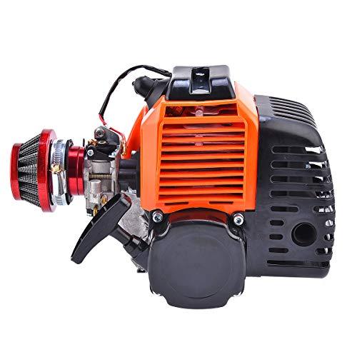 Wingsmoto 49cc 2-Takt-Motor für Motorroller mit Luftfilter für Scooter EVO Pep Jungen Zoom Fahrrad motorisiert DIY -