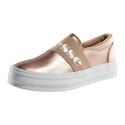 Ellesse Femme Chaussures / Baskets Heritage Panforte Vulcanisé Rose Clair