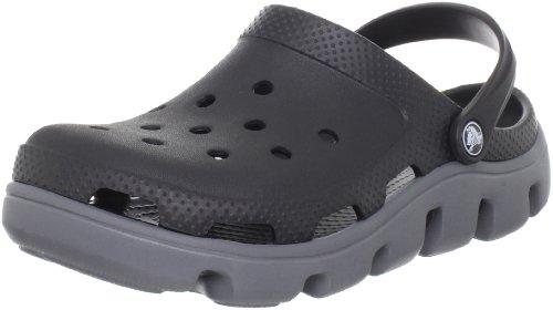 crocs Duet Sprt Clg Blk-Char M7-W9 11991-070, Herren Clogs & Pantoletten, Schwarz (Black-Charcoal 070),  EU 39-40 (M7-W9)