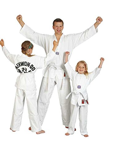 Ju-Sports Taekwondo-Anzug to Start mit Rückendruck 9420, Gr. 180 -