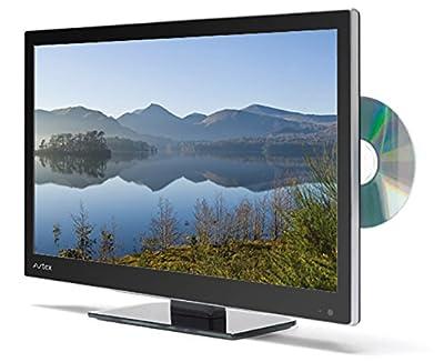 Avtex L247DRS Super Slim LED Combi TV/DVD/Sat/Freeview - Black, 24 Inch