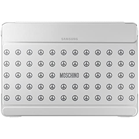 Samsung Diary Moschino - Funda para Samsung Galaxy Note Pro 12.2, blanco/peace