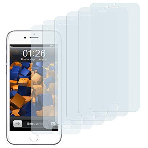 mumbi 3D Touch Schutzfolie iPhone 6 Plus 6s Plus Folie Bildschirmschutzfolie (6er Set)