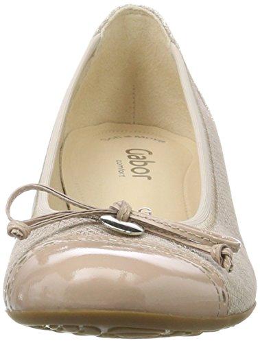 Gabor Shoes Comfort, Scarpe con Tacco Donna Beige (skin/nude 82)
