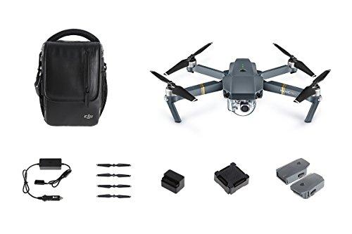 DJI CP.PT.000641 Mavic Pro Drone Combo Kit - Grey