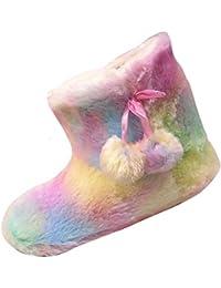 Rainbow Bootie de la niña Zapatillas