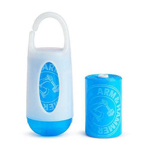 Munchkin, Dispensador de Pañales de Tela, Aroma Lavanda, 24 Bolsas Desechables con Bicarbonato de Sodio
